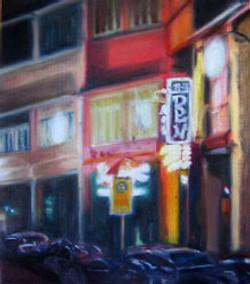 Night Street Scene @ Chinatown