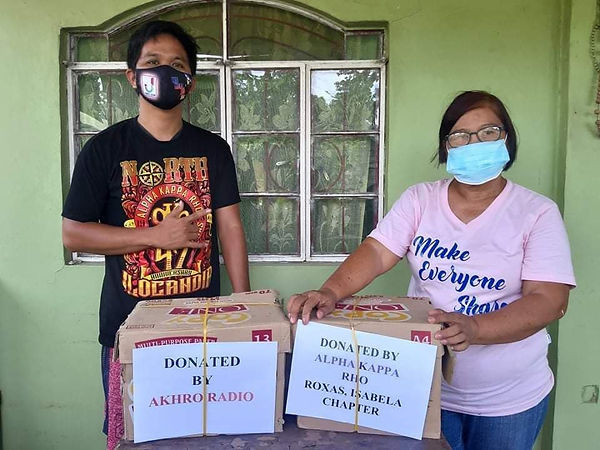 Mask Distribution and Feeding Program