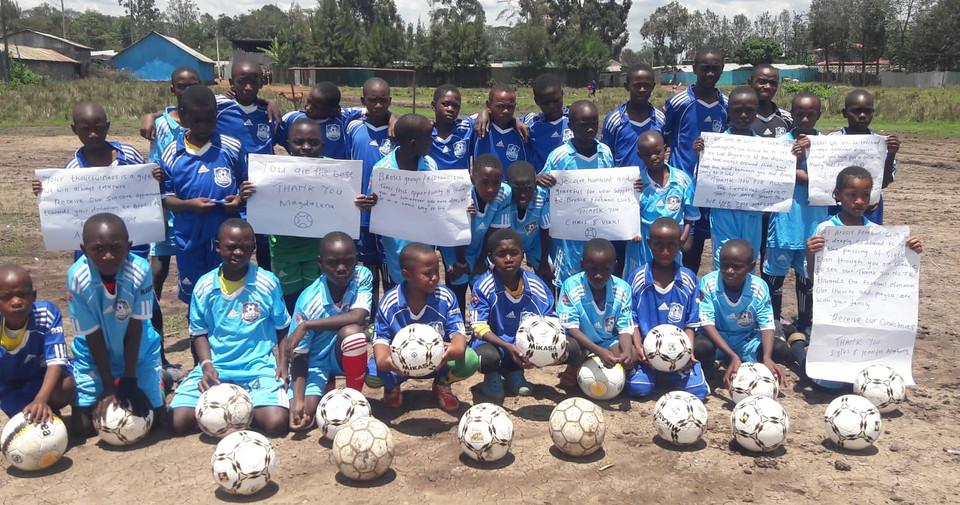 Brosis Football Club - Balls Donation