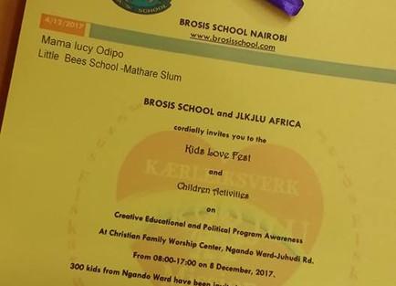 2017 JLKJLU Kid Love Fest - Kenya