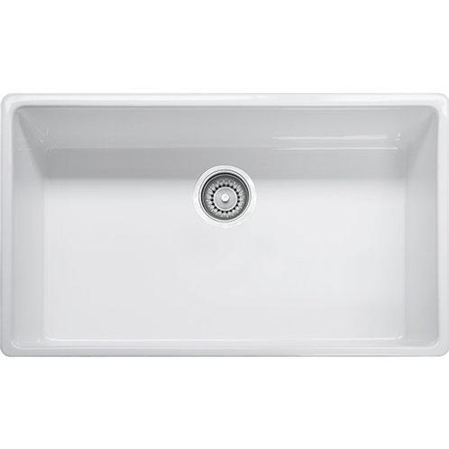 Franke Farm House FHK710-33 Fireclay White Apron Sink
