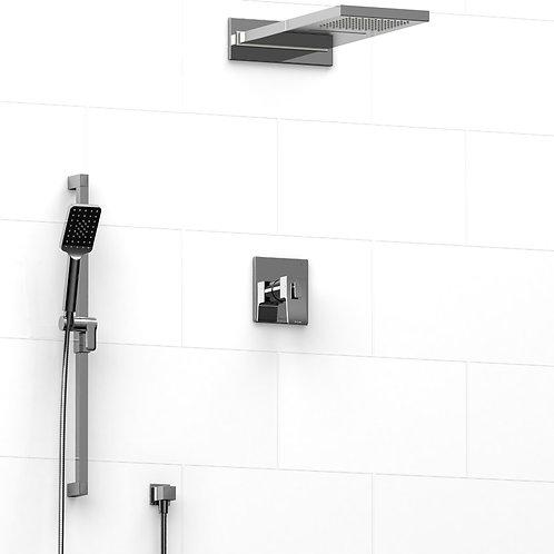 Riobel KIT#8045C Premium 3 Way Thermostatic Shower Chrome