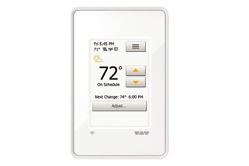 Schluter DHERT104/BW DITRA-HEAT-E-WIFI Thermostat WI-FI Programmable