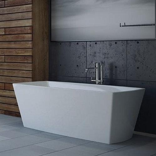 Mirolin Carrera Slimline Acrylic Freestanding Bathtub 67x31x24