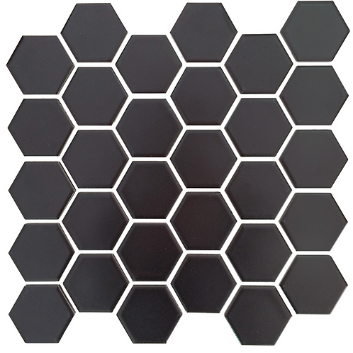 "Ceragres Texo Hexagon 1"" Mosaic Tile"