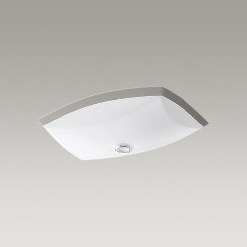 "Kohler Kelston® K-2382 21""x15"" under-mount bathroom sink"