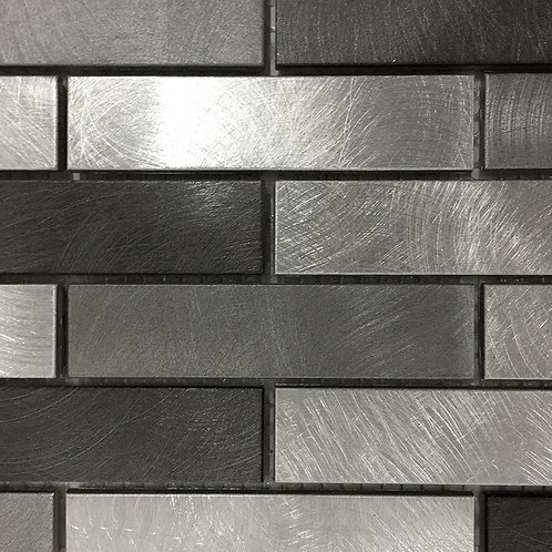 "Ceragres Tint 1""x4"" Brick Mosaic Tile"