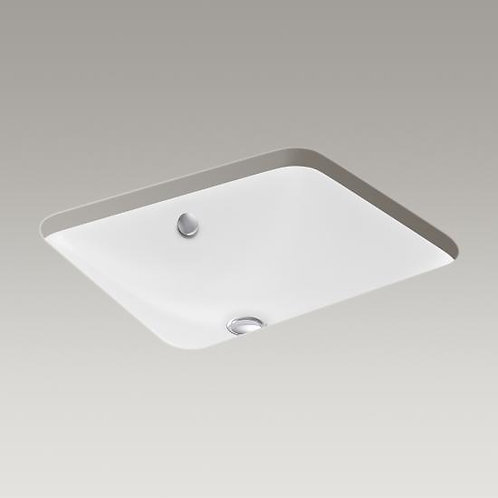 Kohler Iron Plains® K-5400 drop-in/under-mount bathroom sink