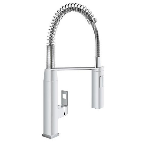 Grohe Eurocube Single-Handle Semi Pro Kitchen Faucet