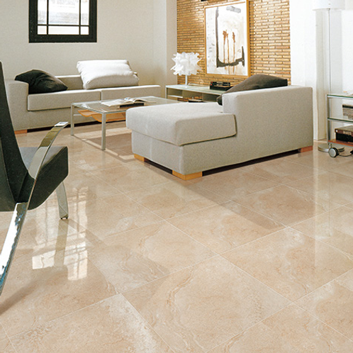 "Aria 12"" x 24"" Sand Polished Porcelain Tile"