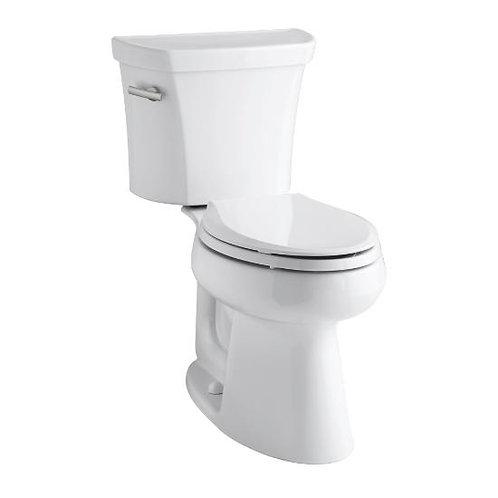 Kohler Highline® Comfort Height® two-piece elongated 1.28 gpf toilet