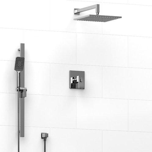 Riobel KIT#5123C Premium 2 Way Thermostatic Shower Chrome