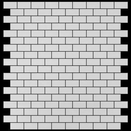 """Bianco Dolomiti Marble 1""""x2"""" Subway White Mosaic Tile Polished"""
