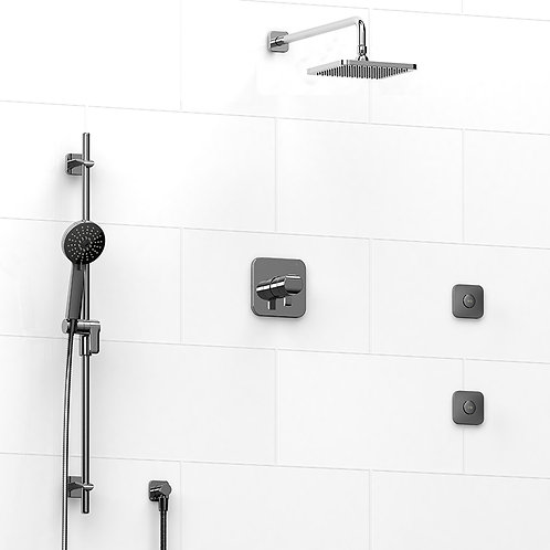Riobel KIT#3545SA Salome 3 Way Thermostatic Shower with Jets