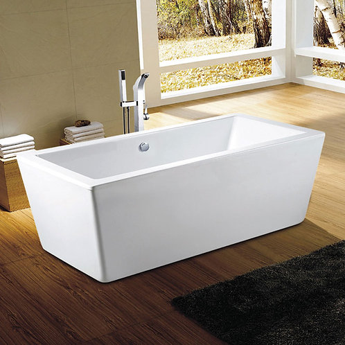 Neptune Amaze Rectangle Freestanding Soaker Tub 60x32x23