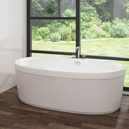 Mirolin Cari Acrylic Freestanding Bathtub 60x32x22