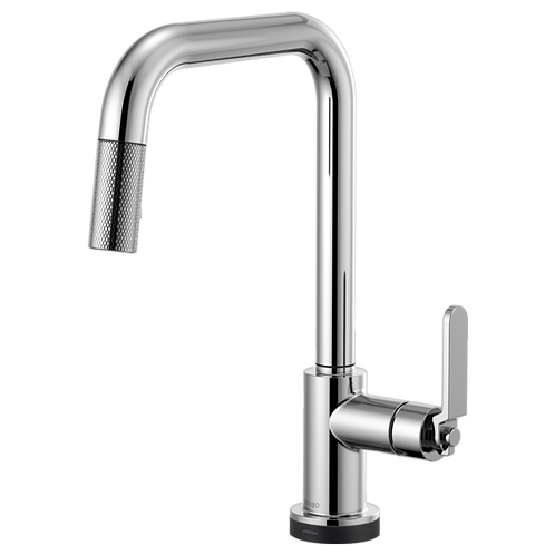 Brizo LITZE® SMARTTOUCH Pull Down Kitchen Faucet With Industrial Handle 64054LF