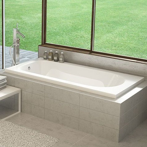 Mirolin Lux Drop In Soaker Bathtub 66x34x20