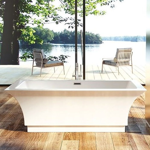 Mirolin Onyx Acrylic Freestanding Bathtub 67x31.5x24