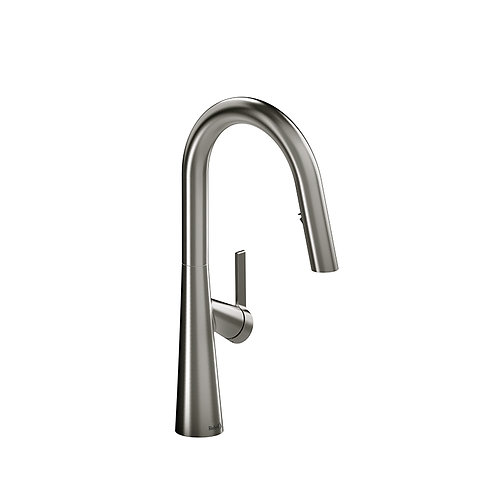 Riobel Ludik LK101SS Kitchen Faucet with Spray Stainless Steel