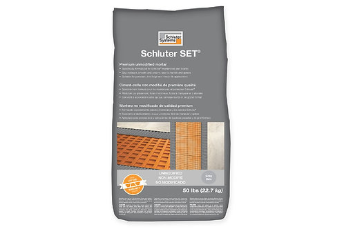 Schluter SET50G SET Unmodified Grey