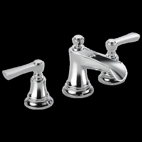 Brizo Rook 3 Hole Widespread Lavatory Faucet Open Spout