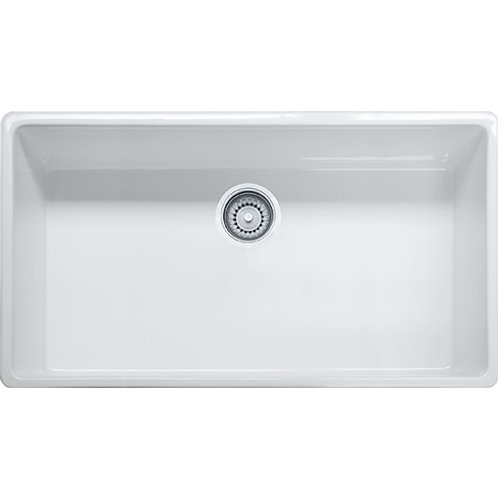 Franke Farm House FHK710-36 Fireclay White Apron Sink