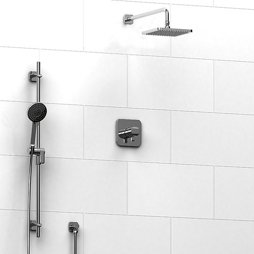 Riobel KIT#323SA Salome 2 Way Thermostatic Shower