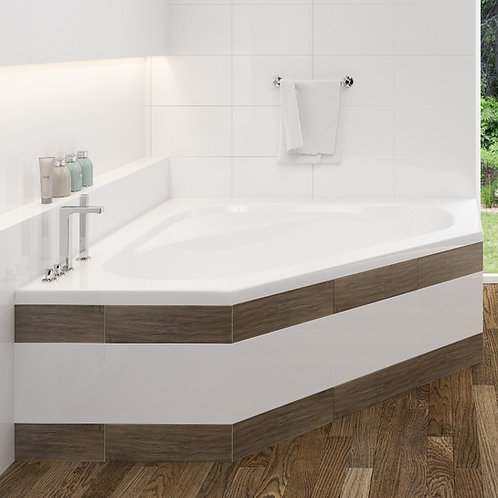 Mirolin Soho1 Drop In Soaker Bathtub 60x60x20