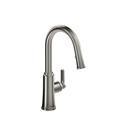Riobel Trattoria TTRD101SS Kitchen Faucet with Spray Stainless Steel