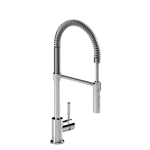 Riobel Bistro BI201C Kitchen Faucet with Spray Chrome