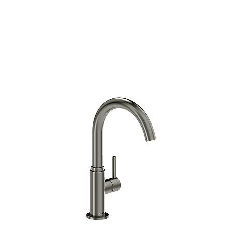 Riobel Azure AZ601SS Single Hole Prep Sink Faucet Stainless Steel