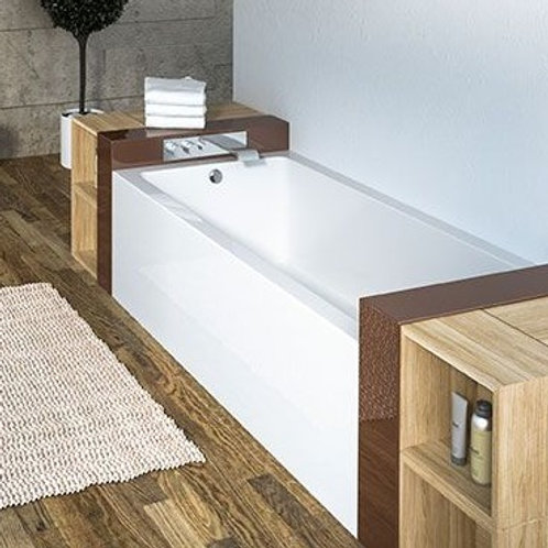 Mirolin Corra Skirted Soaker Bathtub 66x34x20