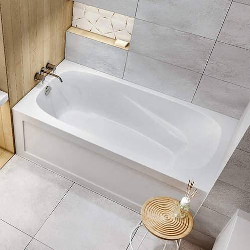 Mirolin Tucson Skirted Soaker Bathtub 60x32x20