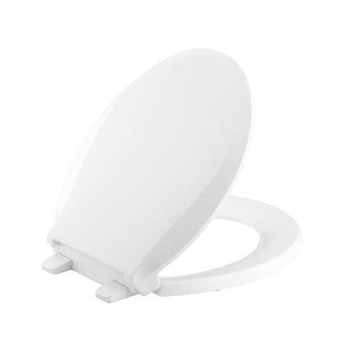 Kohler Cachet® Quiet-Close™ with Grip-Tight round-front toilet seat