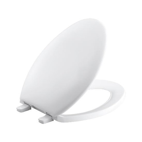 Kohler Bancroft® with Quick-Release™ Hinges elongated toilet seat