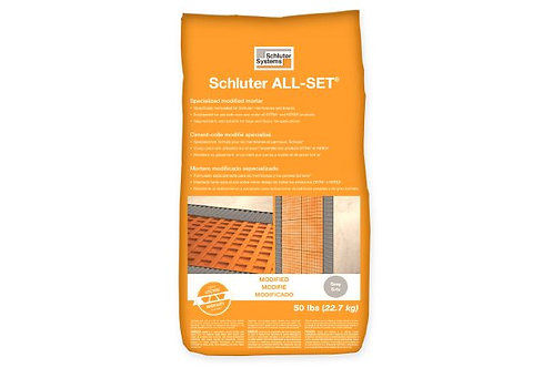 Schluter SETA50G ALL SET Modified Grey