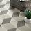 """Thumbnail: Madison Hexagon 13""""x15"""" Diamond Porcelain Tile"""