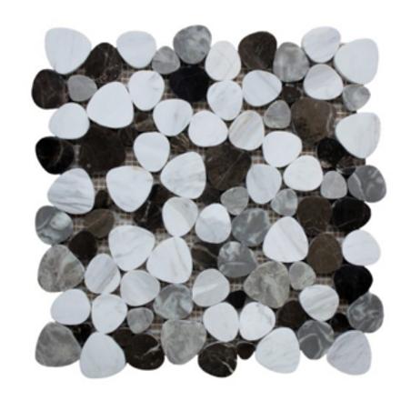 Palm Beach Pebble Tile Polished