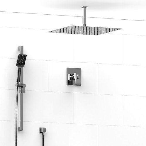 Riobel KIT#8323C Premium 2 Way Thermostatic Shower Chrome