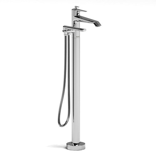 Riobel Venty VY39 Thermostatic Freestanding Tub Filler Faucet with Handshower