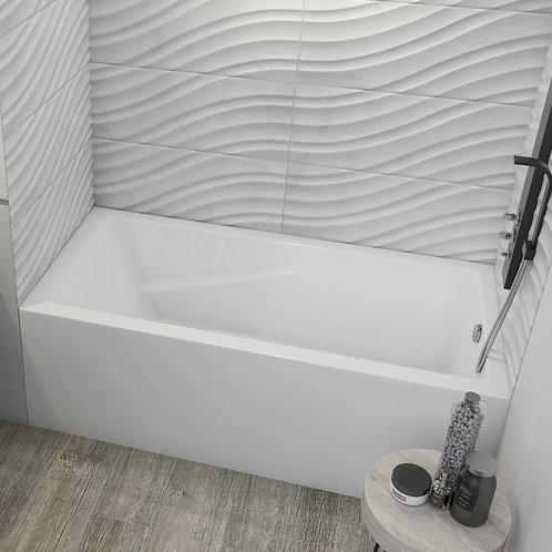 Mirolin Alora Skirted Soaker Bathtub 60x30x20