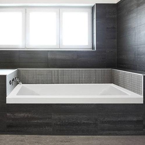 Mirolin Aura Alcove Soaker Bathtub 60x30x22