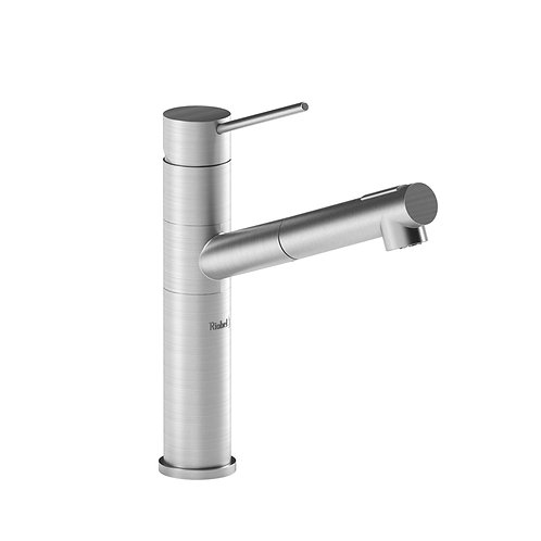 Riobel Cayo CY101SS Kitchen Faucet with Spray Stainless Steel