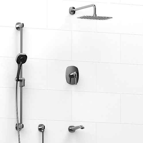 Riobel KIT#1345VY Venty 3 Way Thermostatic Shower