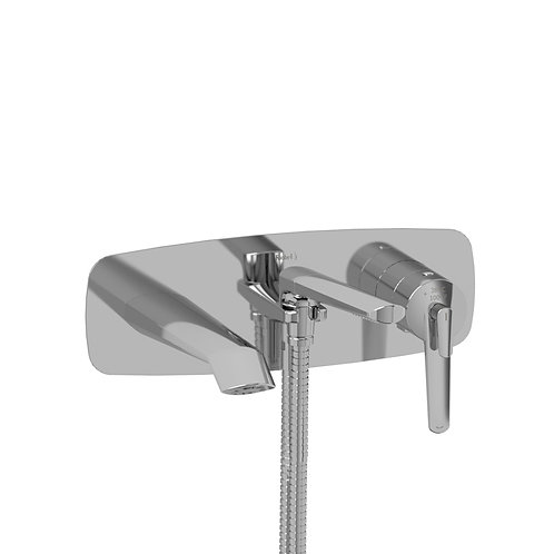 Riobel Venty VY21 Wall Mount Bath Tub Filler Faucet with Handshower