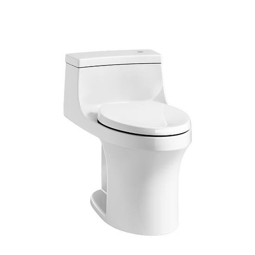 Kohler San Souci® Touchless Comfort Height® one-piece compact elongated 1.28 gpf