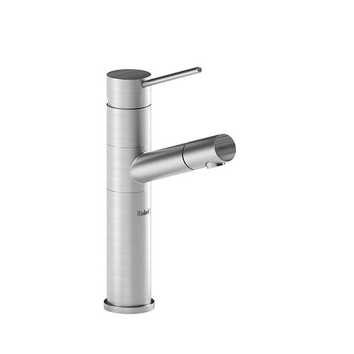 Riobel Cayo CY601SS Single Hole Prep Sink Faucet Stainless Steel