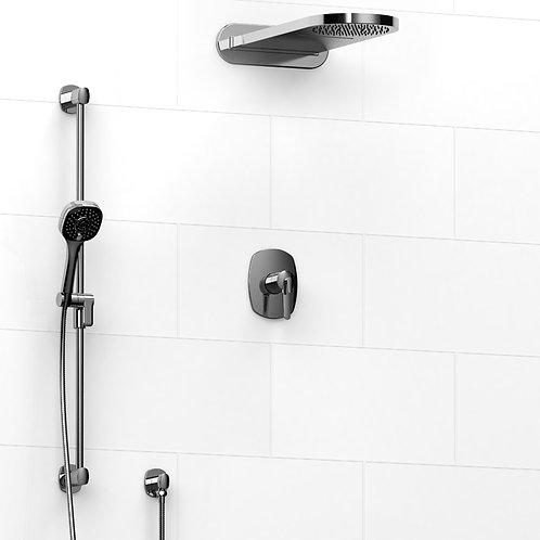 Riobel KIT#2745VY Venty 3 Way Thermostatic Shower with Cascade Shower Head