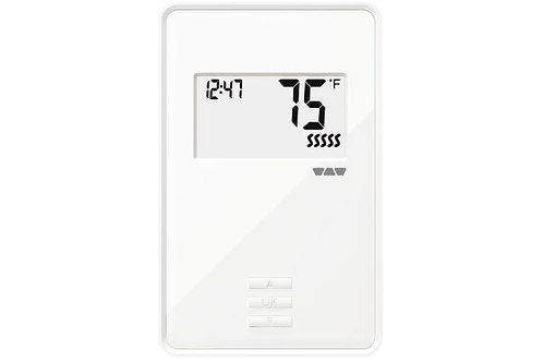 Schluter DHERT103/BW DITRA-HEAT-E-R Non-Programmable Thermostat White